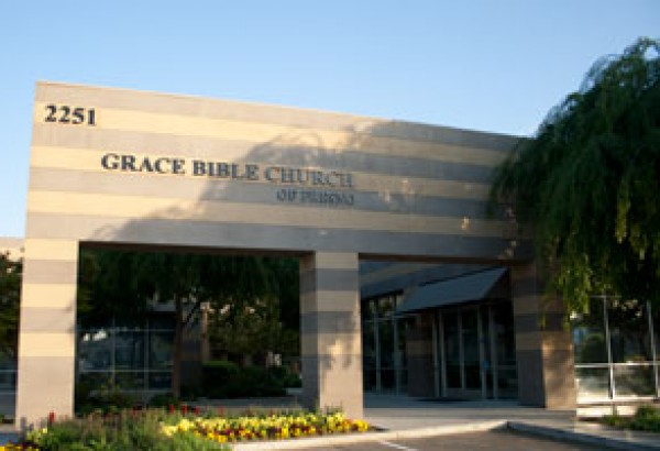 Grace Bible Church Front of Building